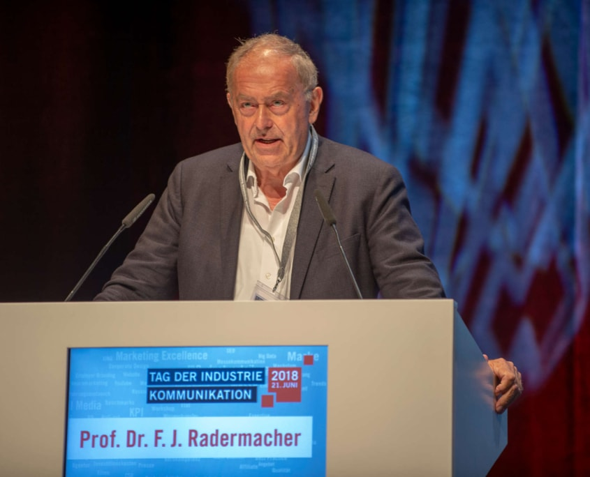Prof. Dr. F. J. Radermacher – Referent TIK 2018