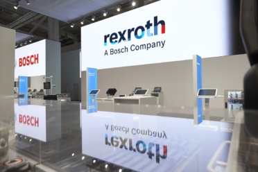 Stand Bosch Rexroth HMI 2018
