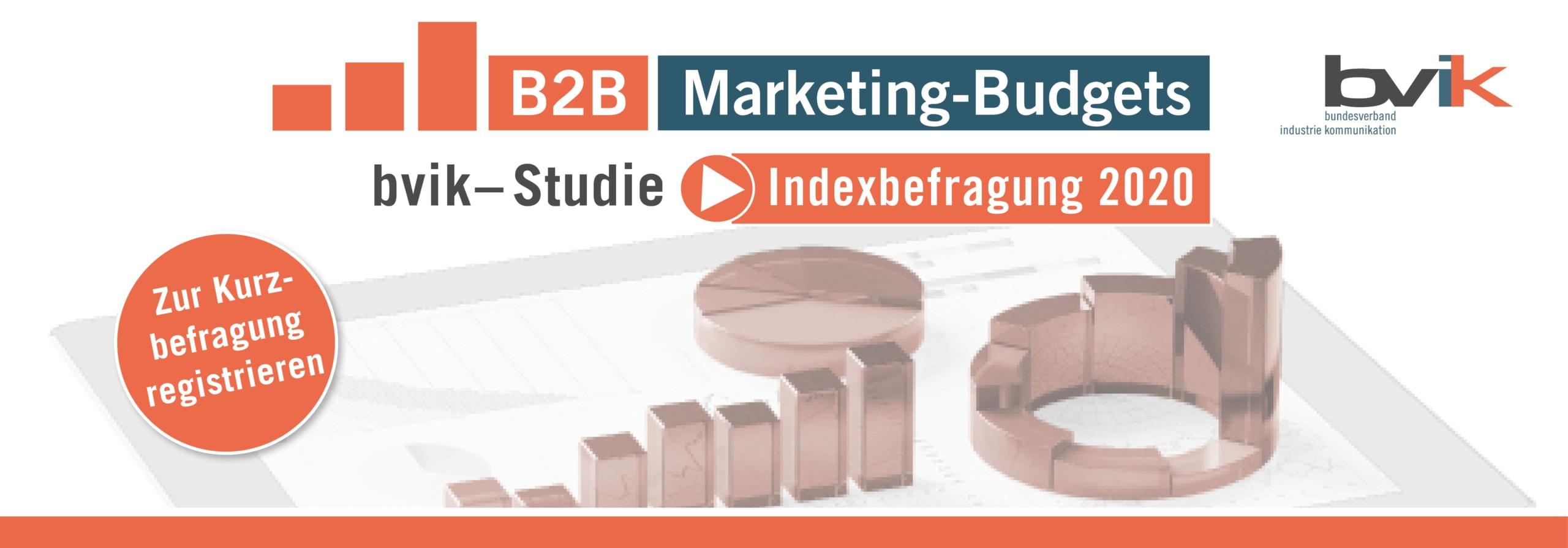B2B-Marketing-Budgets - Jetzt zur Studie registrieren