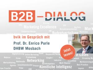 Prf. Dr. Enrico Purle im Gespräch