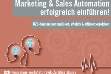 Marketing- und Sales-Automation im B2B