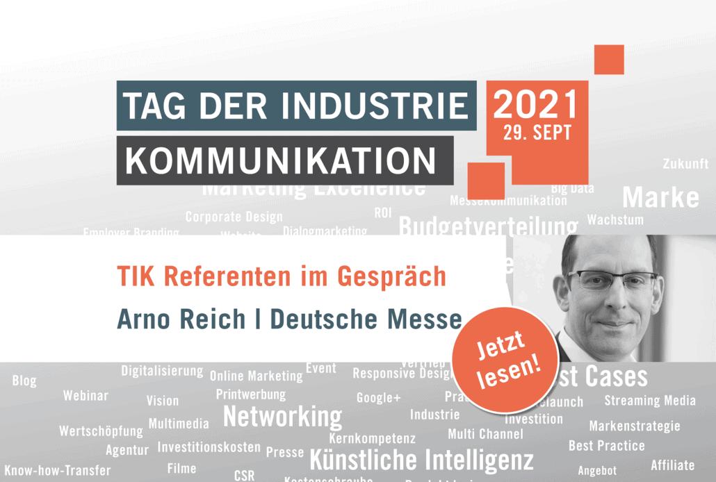 TIK Referent Arno Reich