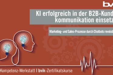 KI erfolgreich in der B2B-Kommunikation einsetzen
