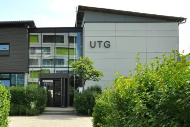 Frontansicht des UTG Augsburg