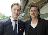 Julius van de Laar und Prof. Dr. Christian Blümelhuber